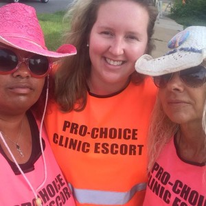 Defending the RHS clinic in Montgomery with the Pink House Defenders from Mississippi was an honor!