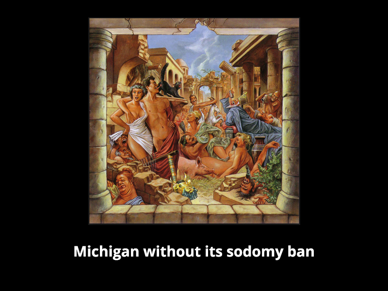 Anal sodomization and history