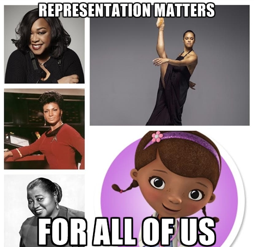 Representation Matters. For all of us.