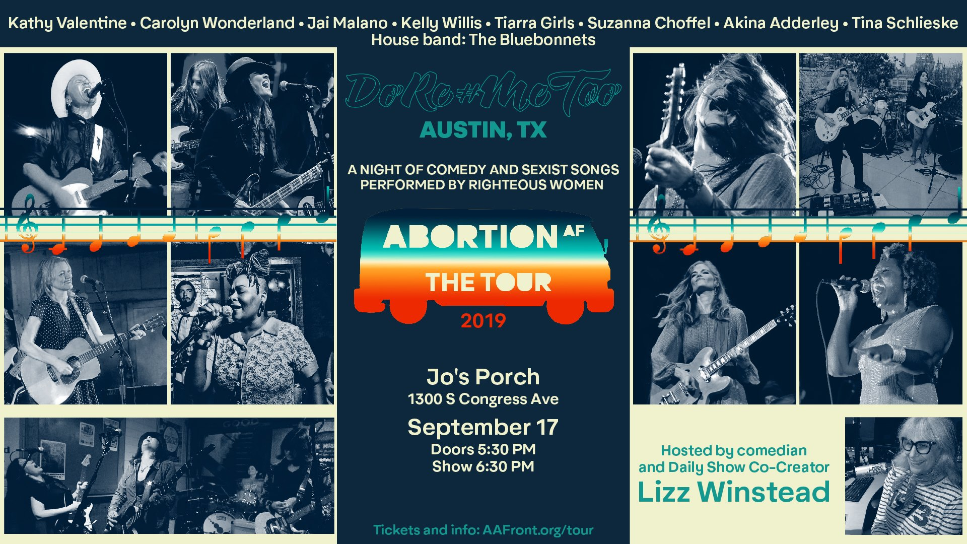 Do Re #MeToo Austin - A Night of Sexist Songs Sung by